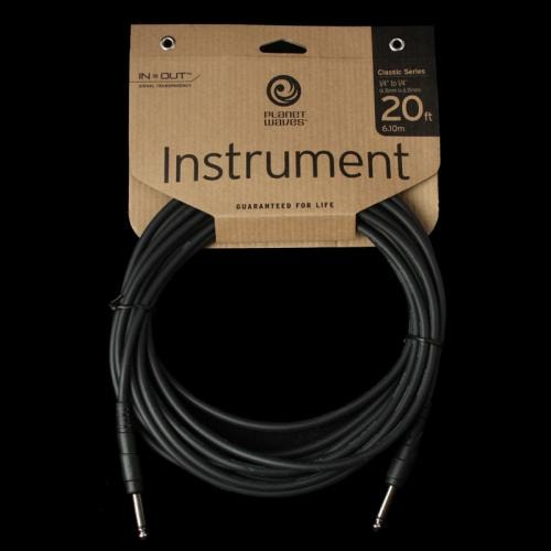 D'Addario Planet Waves Classic Series Instrument Cable (20 Foot)