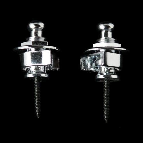 Schaller Security Strap Locks (Chrome)