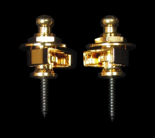 Schaller Security Strap Locks (Gold)