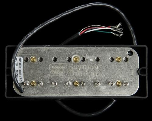 Seymour Duncan 8-String Distortion Bridge Pickup Active Mount Soapbar