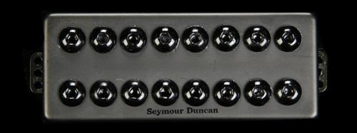 Seymour Duncan 8-String Invader Bridge Pickup Passive Mount Black Metal