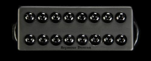Seymour Duncan 8-String Invader Neck Pickup Passive Mount (Black Metal)
