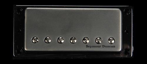 Seymour Duncan Pegasus 7-String Bridge Pickup Passive Mount Black Metal