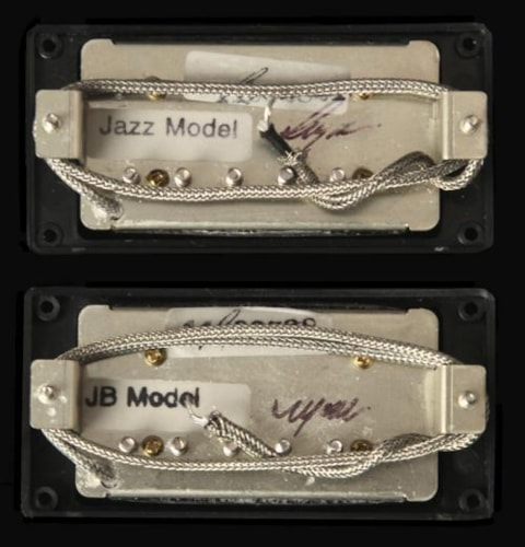 seymour duncan antiquity jazz jb humbucker pickup set black guitar parts the music zoo. Black Bedroom Furniture Sets. Home Design Ideas