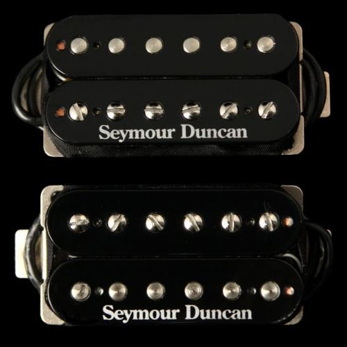 Seymour Duncan Hot Rodded Humbucker Pickup Set (Black)
