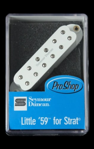 Seymour Duncan SL59-1n Little '59 Neck Pickup (White)
