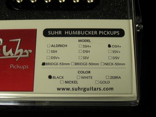 Suhr DSH+ Bridge Humbucker (53mm)