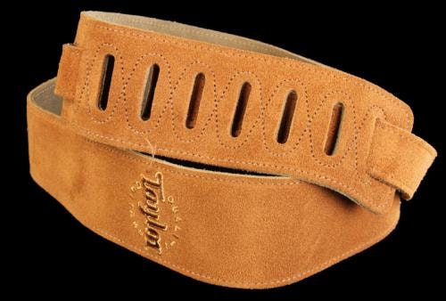 Taylor Honey Suede Logo Strap