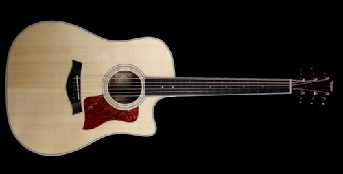 Taylor 410ce Dreadnought Acoustic-Electric Guitar Natural