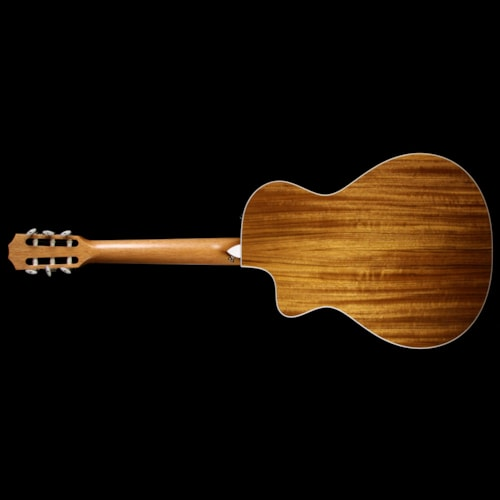 Taylor 412ce-N Grand Concert Acoustic/Electric Nylon String Guitar Natural