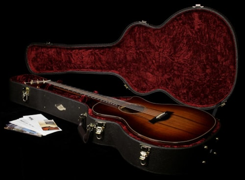 Taylor Used Taylor K24ce Grand Auditorium Acoustic-Electric Guitar Shaded Edgeburst