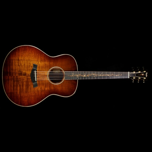 Taylor Used Taylor K28e Grand Orchestra Acoustic-Electric Guitar AA Top