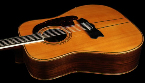 Mancuso Handmade Dreadnought Acoustic Guitar - Used