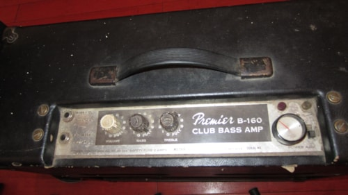 ~1963 Premier B-160 Club Bass Amp