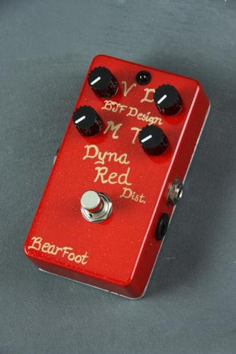 Bearfoot Dyna Red Distortion - 4 Knob