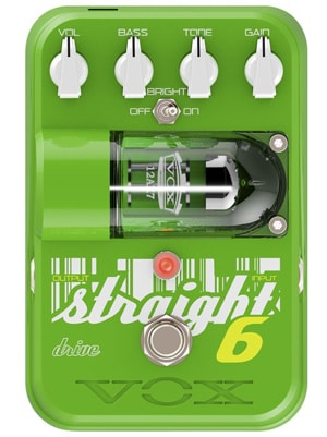 Vox Straight 6 Drive Pedal