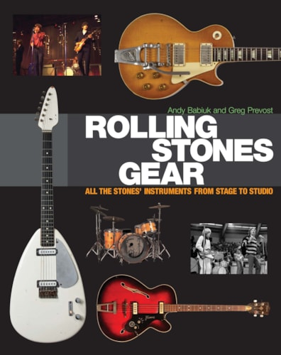 Rolling Stones Gear - All The Stones Instruments From Stage To Studio