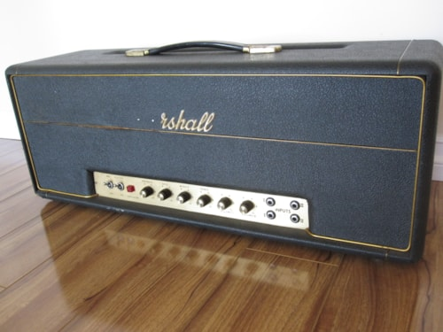 1969 MARSHALL AMP VINTAGE 1969 100w SUPER BASS PLEXI/METAL PANEL