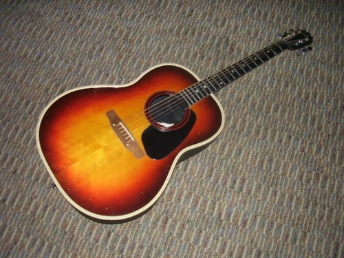 1970 Ovation Applause Aa14 1 Sunburst Gt Guitars Flattop