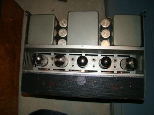 1975 Audio Research Dual 75 Power Amp