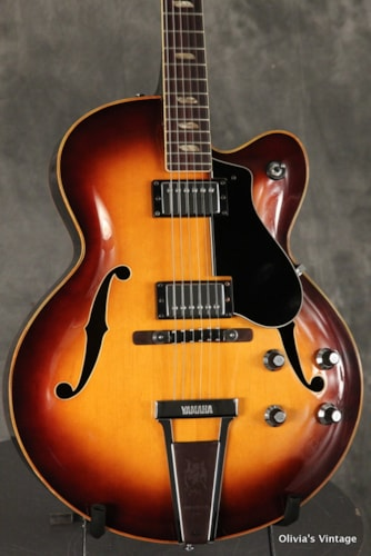 ~1970 Yamaha AE-12 electric archtop SUNBURST!!!