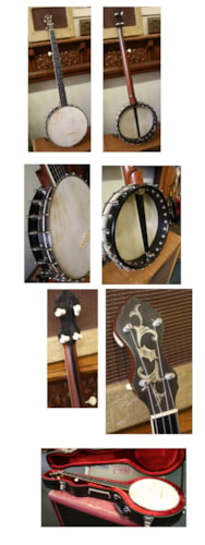 1912 COLE'S Eclipse Professional 5-String banjo