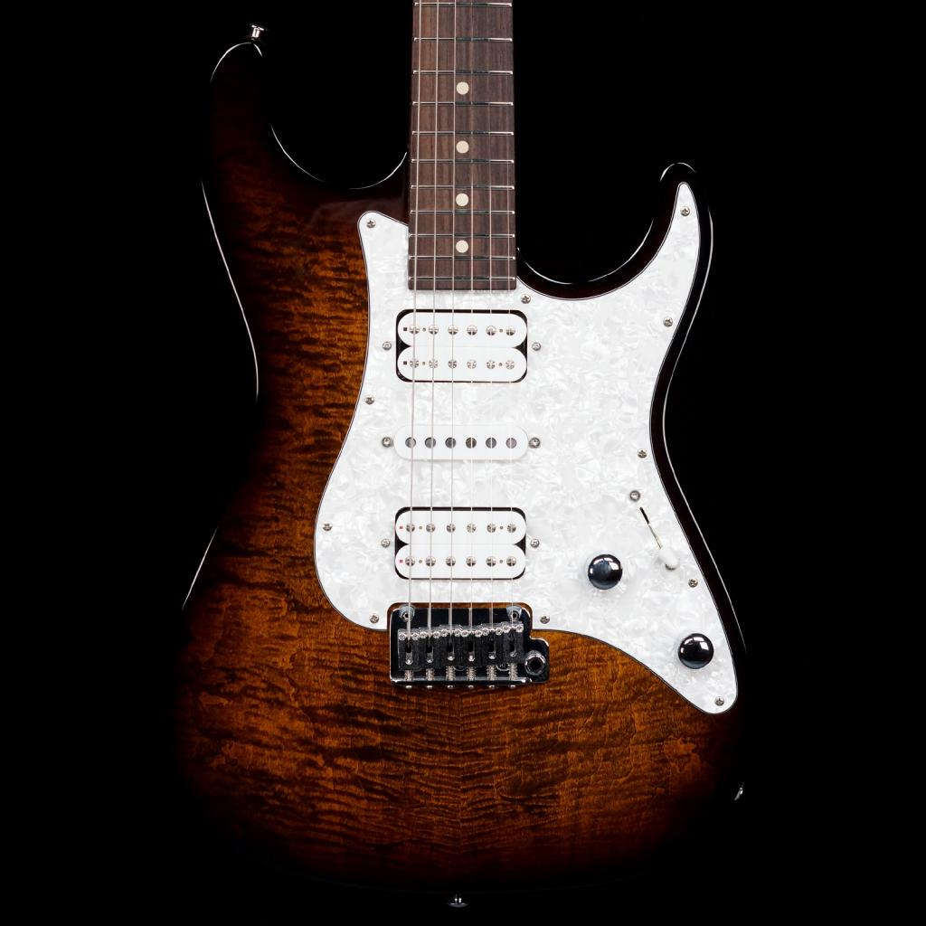 suhr standard hsh bengal burst guitars electric solid body distinctive guitar. Black Bedroom Furniture Sets. Home Design Ideas