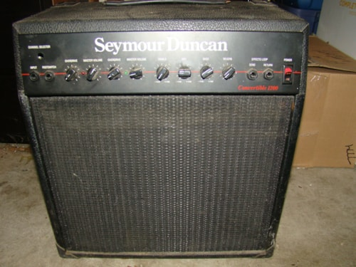 1992 Seymour Duncan Convertible Cab (Empty)/1200 or2000 cab