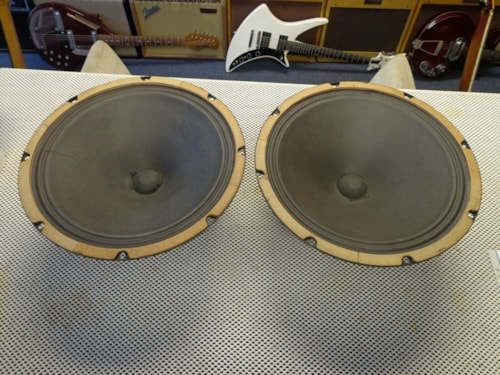 "1958 Fender® Jensen 12"" Pair of Speakers"