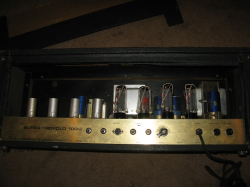 1970 Marshall 100w Super Tremolo