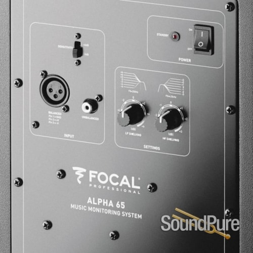 Focal Professional Studio Monitors ALPHA65