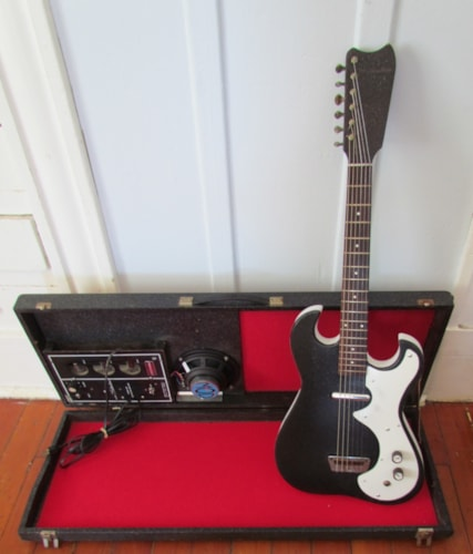 1964 Silvertone 1448 Amp In Case