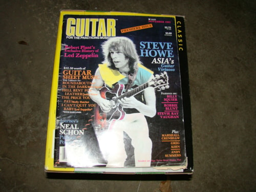 1983 Guitar For Practicing Musician, Premier Issue
