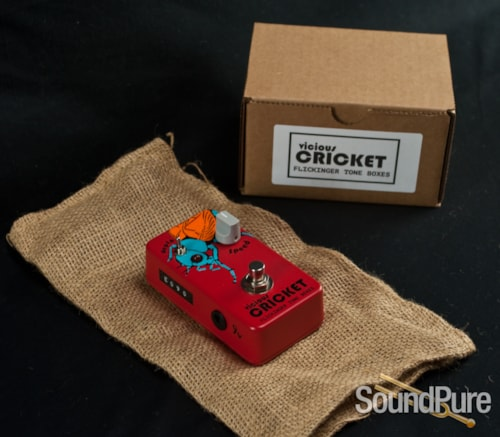 Flickinger Effects Pedals Vicious Cricket