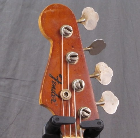 1968 Fender® Jazz LEFTY MAPLE CAP BLACK BLOCK!! - THE TRUTH!!
