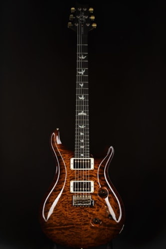 Paul Reed Smith (PRS) Custom 24 Artist Package/Flame Maple Neck - Black Gold/2014