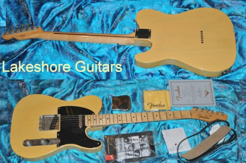2002 Fender® Nocaster Custom Shop Relic®