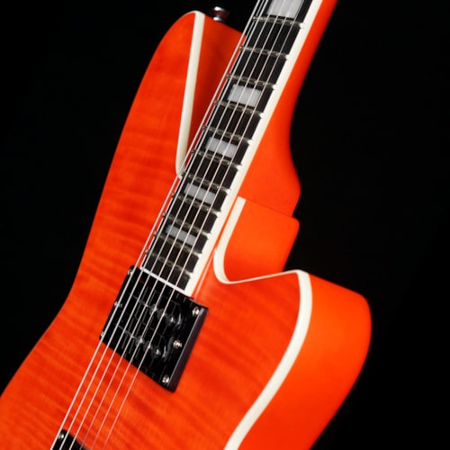 Reverend Guitars Bayonet Flame Maple Top