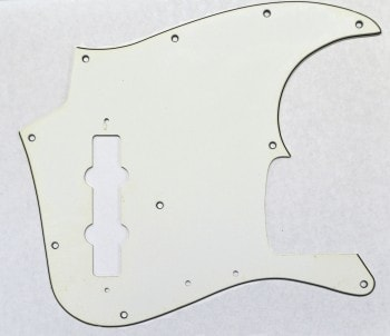 Fender® Aftermarket Jazz Bass® Pickguard