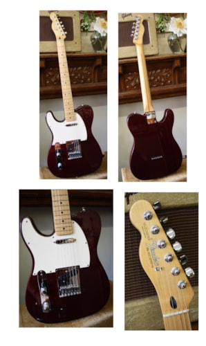 ~2012 Fender® Standard Mexican Telecaster®, Lefty