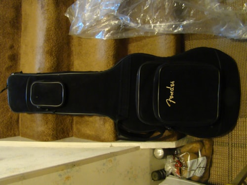 2005 Fender® Deluxe Gig Bag, Suede Exterior, Heavy Duty(On Hold)