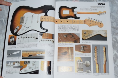 2014 Japanese New Guitar Book The Authority of Stratocaster®
