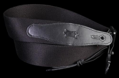 Levy's MSSR80 Rayon Guitar Strap Black