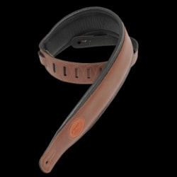 Levy's MSS2 Brown Signature Series Guitar Strap