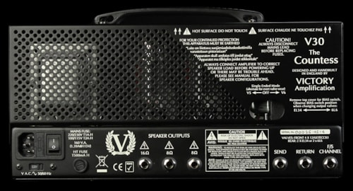 Victory Amplification V30 The Countess Guitar Amplifier Head