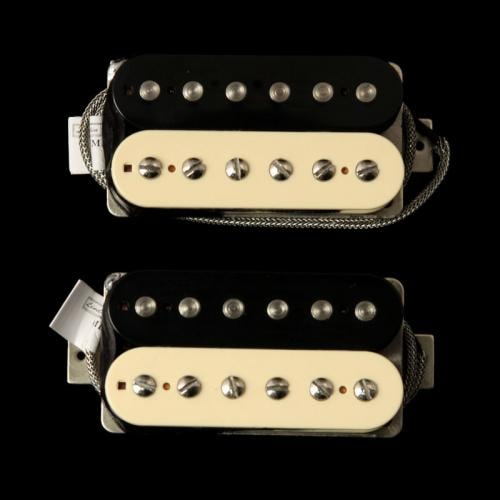 Lindy Fralin Pure PAF Humbucker Pickup Set (Zebra)