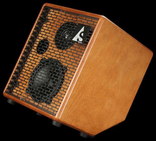 Acoustic Solutions ASG-75 Guitar Amplifier Wood