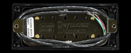 Seymour Duncan 7-String Invader Bridge Pickup Passive Mount (Black Metal)