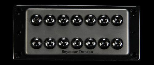 Seymour Duncan 7-String Invader Neck Pickup Passive Mount (Black Metal)