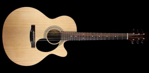 Jasmine by Takamine S34C Nex Mini Jumbo Acoustic Guitar Natural